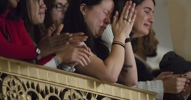 Tears, anguish, devastation for many female Clinton voters