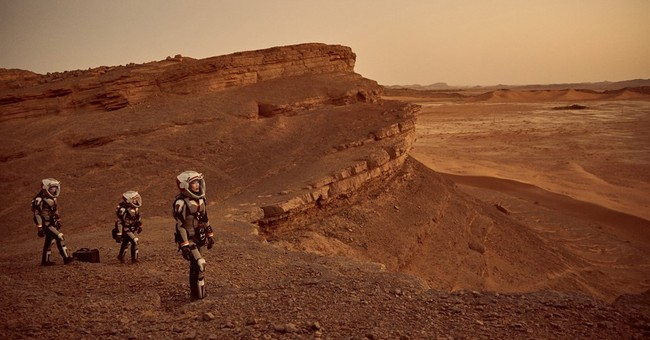 On 'Mars' series, a mission unfolds as both drama and doc