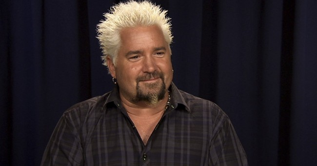 Guy Fieri, vegetable fan? Sure, the Food Network star says