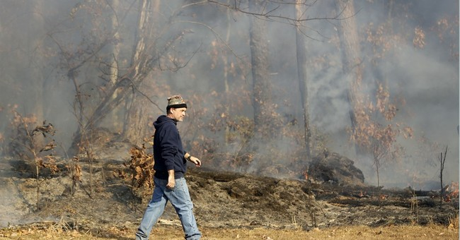 The Latest: Bentley offers $5K reward for wildfire arsonist