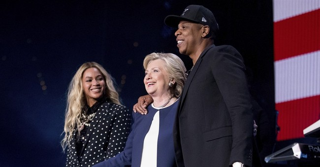 Massive celebrity backing failed to lift Clinton campaign