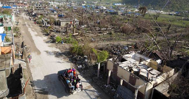 Mothers-to-be struggle, worry in ruins of storm-hit Haiti