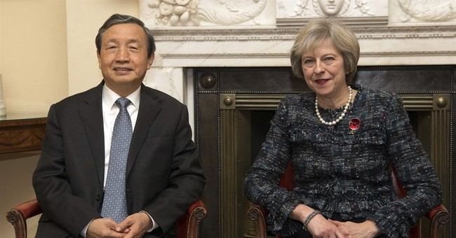 Chinese vice-premier in London as UK seeks investment