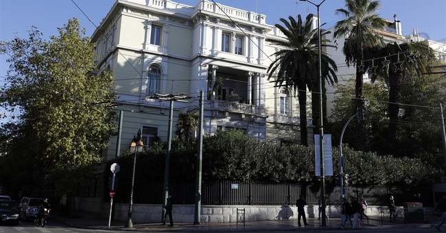 Hand grenade blast outside French Embassy in Athens wounds 1