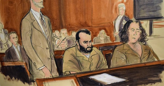 Lawyer: Bombings suspect has serious injuries from shooting