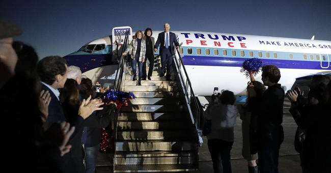 Pence returns to Indiana triumphant after election