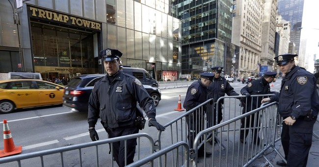 Fort Trump: New security measures ring Trump Tower