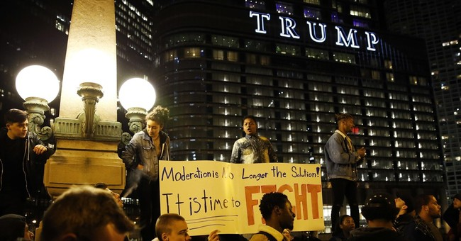 Trump protesters: students, immigrants, anarchists and more