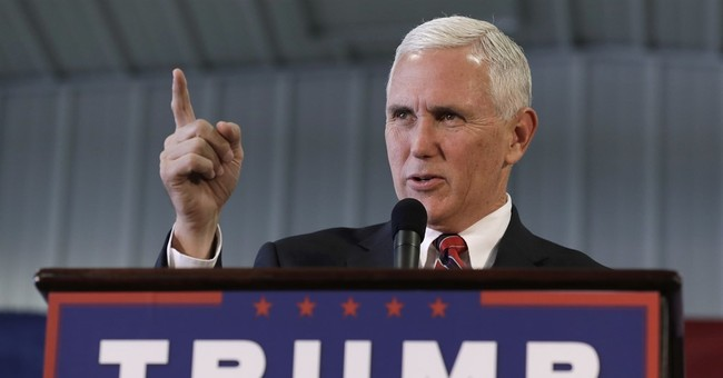 The Latest: Pence speaks at Indiana Veteran's Day event