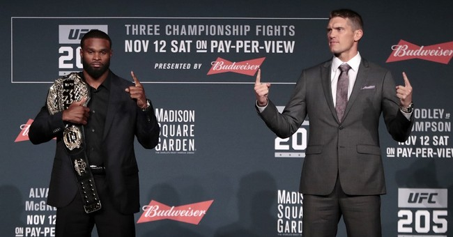 UFC loads 3 title fights under bright lights of NYC debut