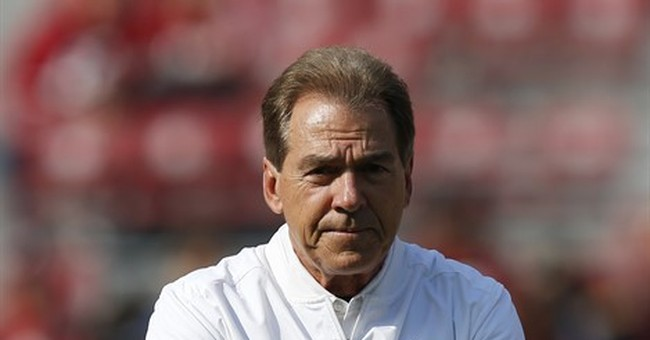 Nick Saban: I voted with an absentee ballot