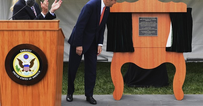John Kerry says he'll continue with global warming efforts