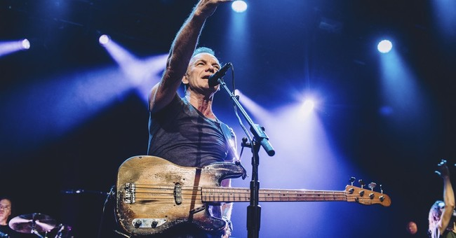 Correction: Music Review-Sting story