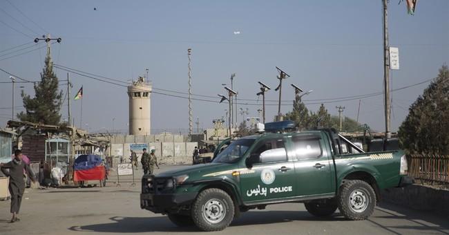 US Military: Blast at Afghan air base kills 4 Americans