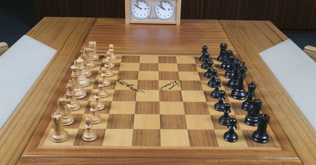 Chess pieces of history: Board in 1972 battle up for auction
