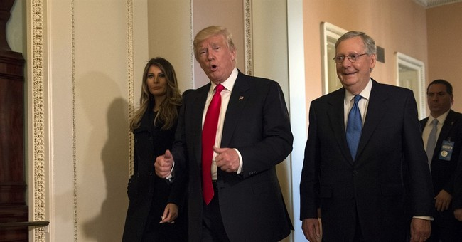 Trump, McConnell and Ryan: Unlikely new power trio for DC