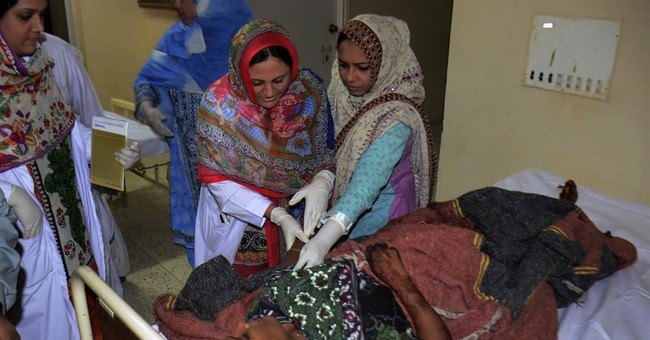 Death toll rises to 50 in IS-claimed blast in Pakistan