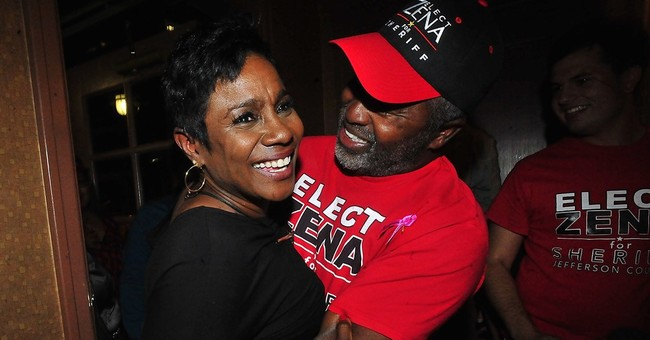 Texas county elects black woman sheriff and votes for Trump