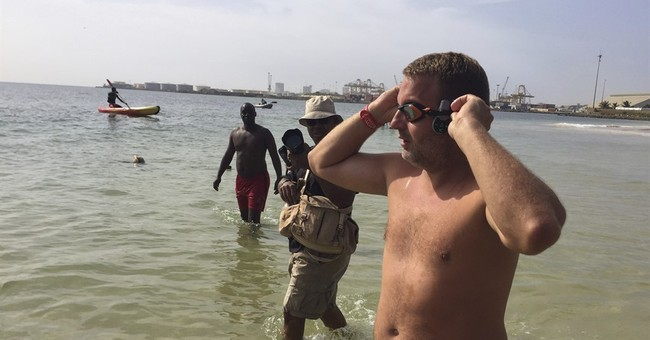 British man aims to swim Atlantic: From Senegal to Brazil
