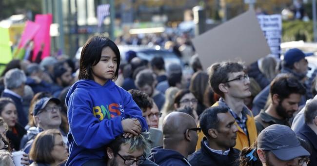 Anti-Trump protests continue in New York, LA, Philadelphia