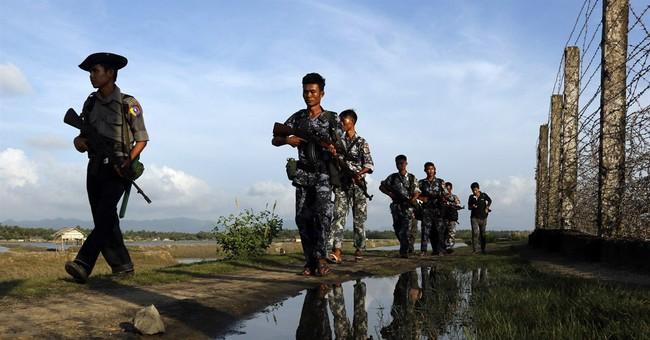 Myanmar government reports fierce fighting in Rakhine state