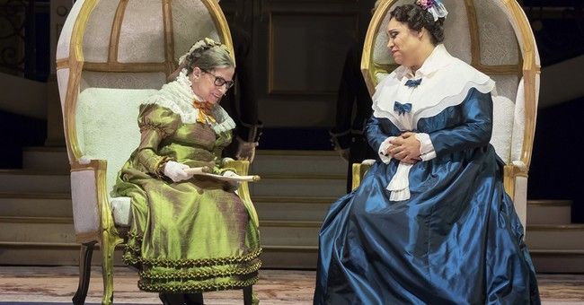 Justice Ginsburg trades robes for opera costume