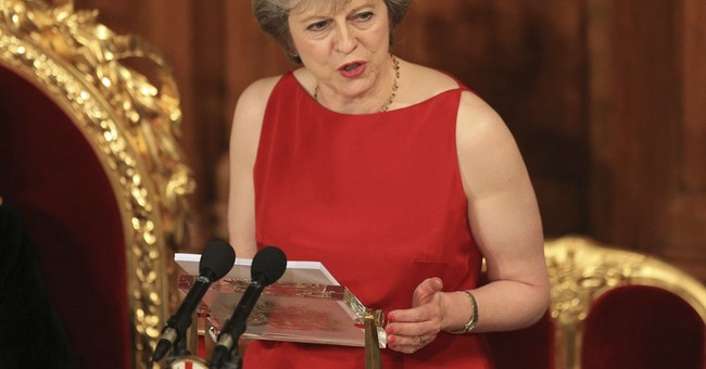 May: UK must respond to world transformed by Brexit, Trump