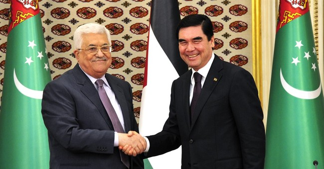 Palestinian leader visits Turkmenistan for the 1st time