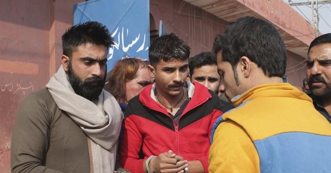 Pakistan arrests 10 for flogging transgender woman