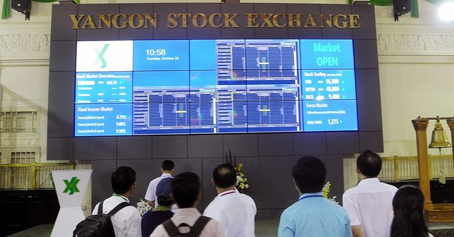 World's youngest stock market struggles in Myanmar
