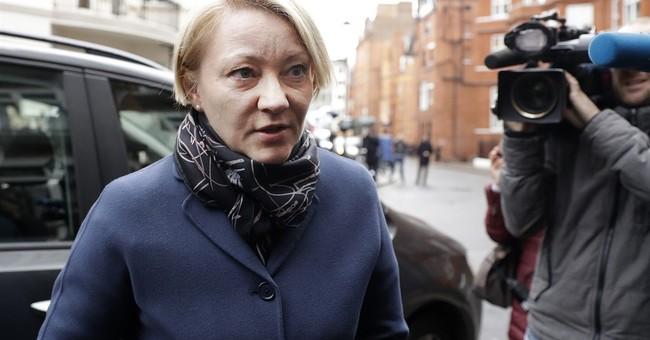 Julian Assange questioned at Ecuadorean Embassy in London