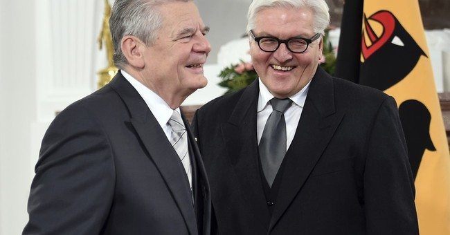 German foreign minister tapped to become next president
