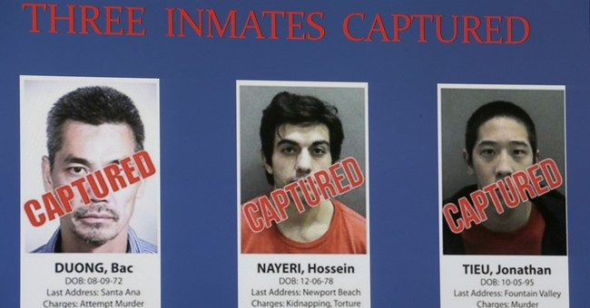 The Latest: Probable leader of jail escape deserted Marines
