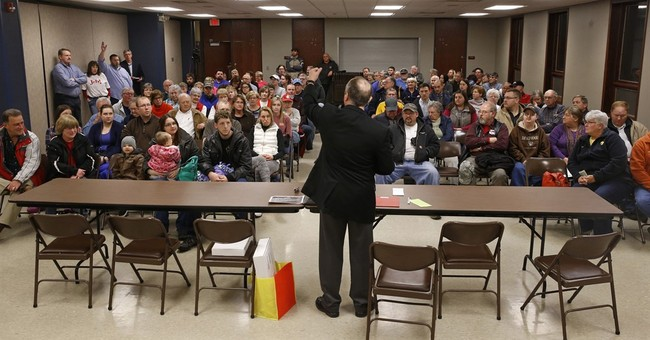 In one Iowa town, democracy plays out in its own unique way