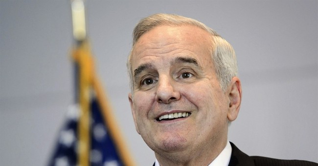 The Latest: Minnesota governor released after fainting