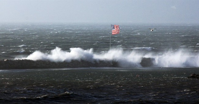 The Latest: Strong winds persist as storm lashes California