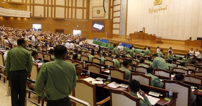 Myanmar house begins new session dominated by Suu Kyi party