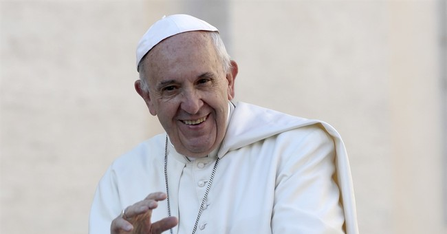Pope Francis gets Cubs hat, baseball from Chicago archbishop