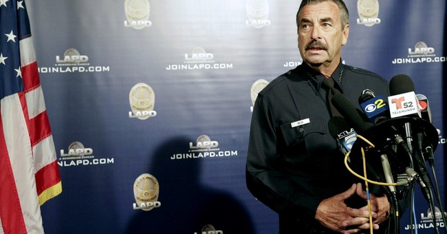 LAPD chief: Police won't help deport immigrants under Trump