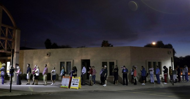 Phoenix election official dumped for long voter lines