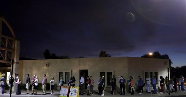 Phoenix election official dumped for long voter lines