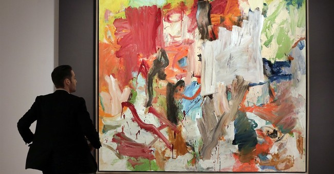De Kooning painting fetches record $66.3M in NYC