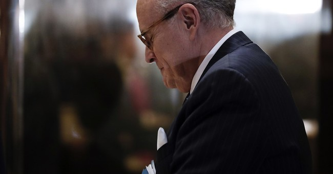 Giuliani's ties to foreign entities could be a complication