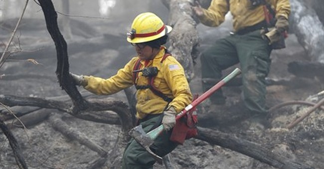 Southern wildfires have threatened communities on edge