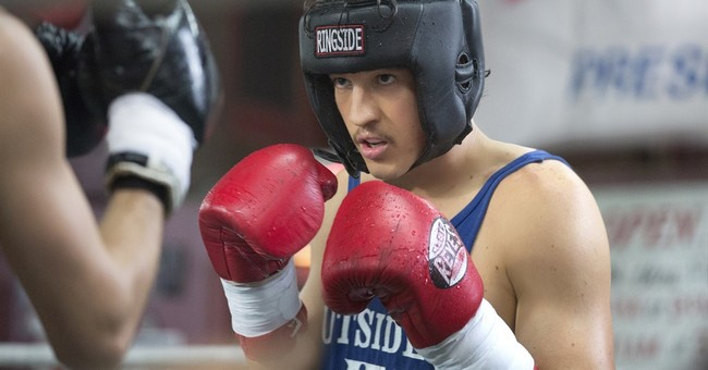Review: In 'Bleed for This,' a comeback times two