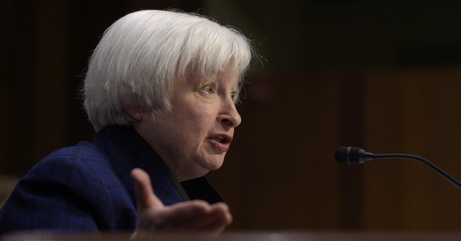 Yellen says she isn't going anywhere when Trump takes office