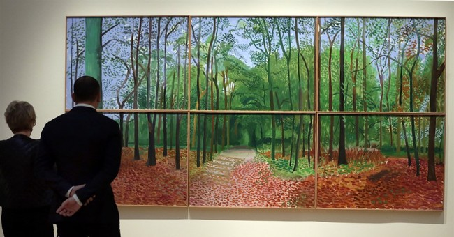 Hockney landscape fetches record $11.7M in NYC