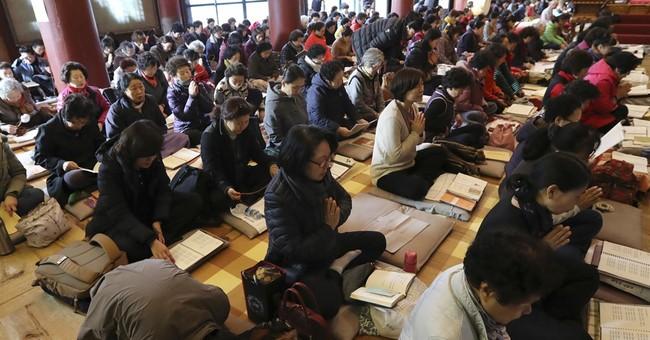Image of Asia: South Koreans take college entrance exams