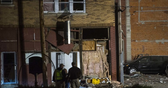 The Latest: Illinois blast damages more than 50 buildings