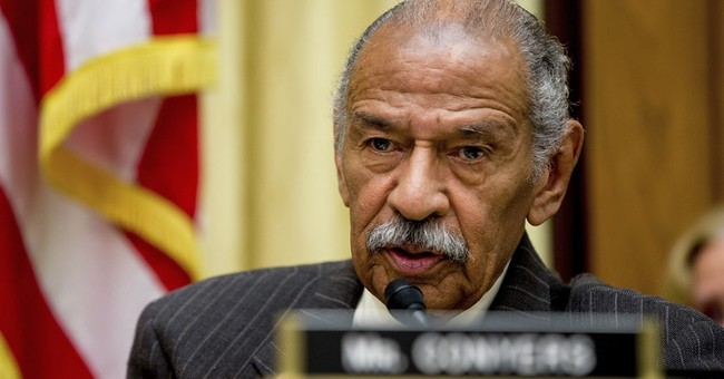 The Latest: John Conyers 'very worried' about missing son